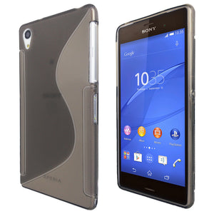 S-Curve Clear Soft Gel Case for Sony Xperia Z2