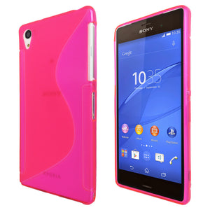 S-Curve Clear Soft Gel Case for Sony Xperia Z3