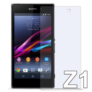Tempered Glass Scratch Resistant Screen Protector for SONY Xperia Z1