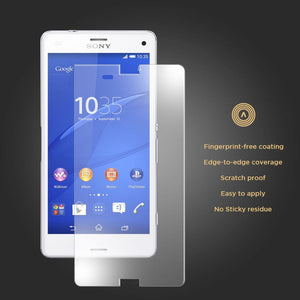 Tempered Glass Scratch Resistant Screen Protector for SONY Xperia Z3