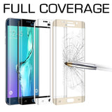 Samsung Galaxy S7 Edge Tempered Glass Full Coverage Screen Protector