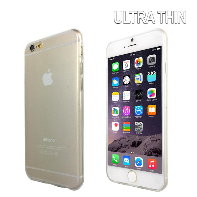 Ultra Slim Crystal Clear Gel Case for Apple iPhone 6 Plus & 6S Plus