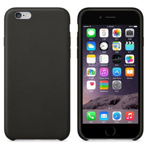 Premium Leather Back Case Thin PU shockproof Cover for Apple iPhone 6 6s Plus 7