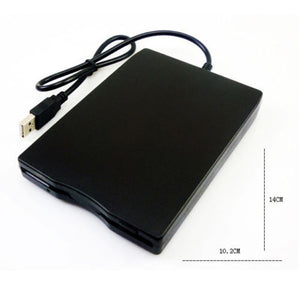 "3.5"" FDD USB Hard External Floppy Disk Drive 1.44MB For PC Laptop Windows Mac OS"