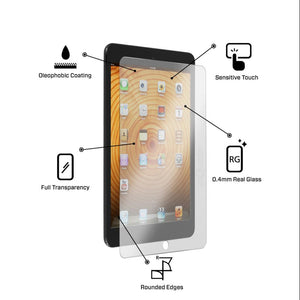 Tempered Glass Scratch Resistant Screen Protector for Apple iPad 2, 3 & 4