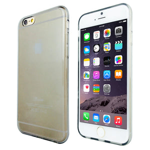 Crystal Clear Soft Gel Case for Apple iPhone 6 & 6S