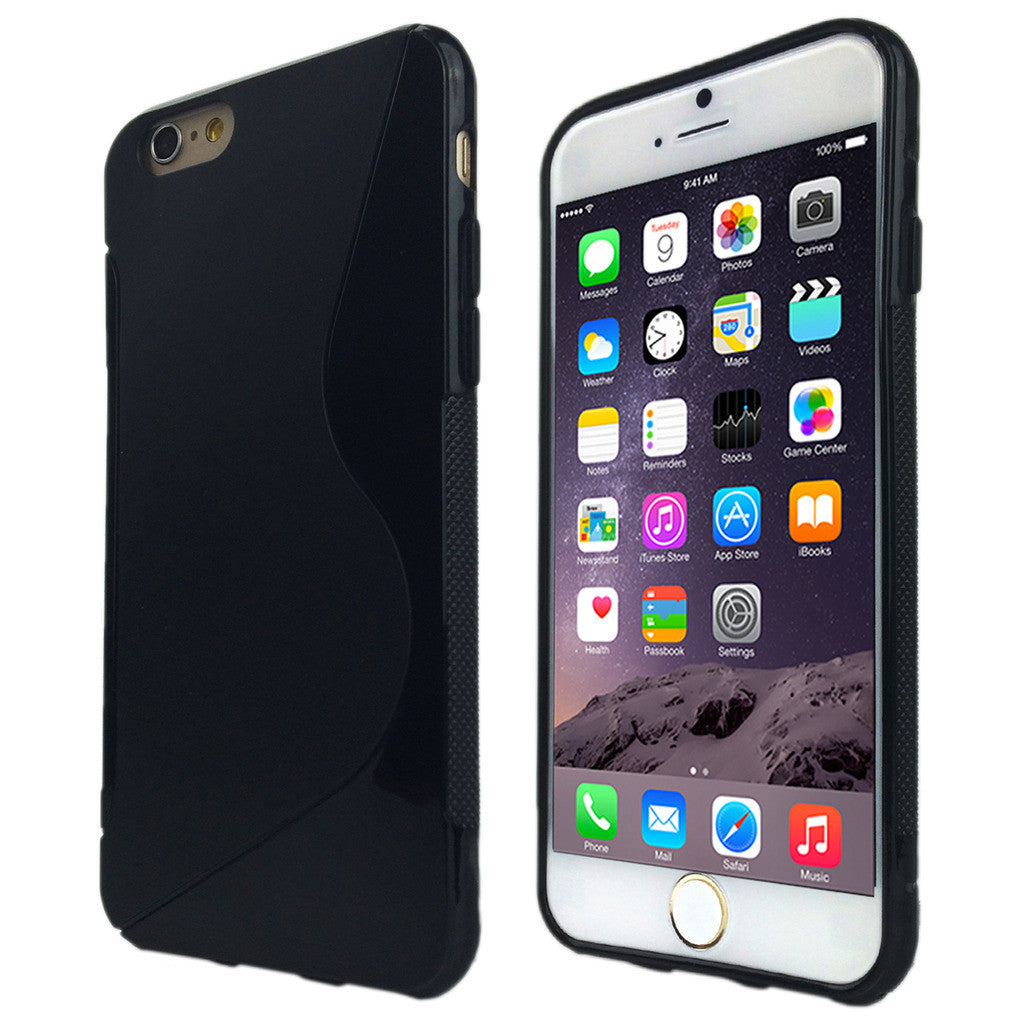 S-Curve Clear Soft Gel TPU Case for Apple iPhone 7