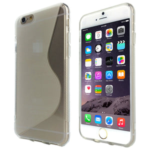 S-Curve Clear Soft Gel TPU Case for Apple iPhone X