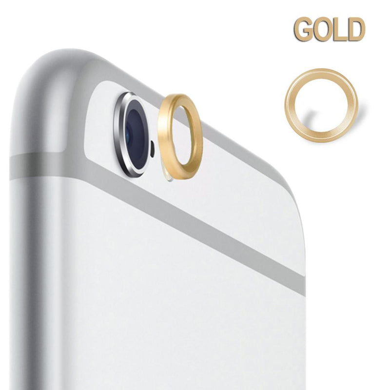 Protective Metal Camera Lens Ring for Apple iPhone 6 and 6S