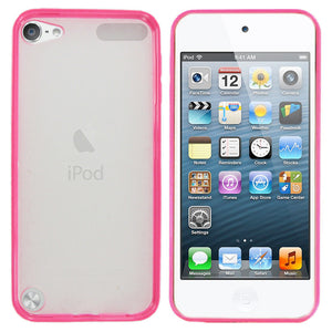 Hard Back Cover and Soft Gel Sided Case for Apple iPod Touch 6