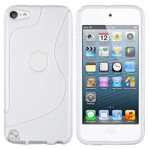 S-Curve Clear Soft Gel Case for Apple iPod Touch 5