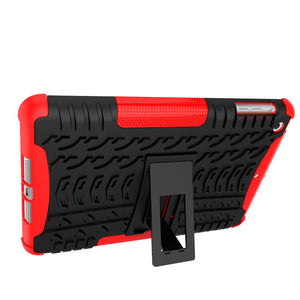 Shockproof Heavy Duty Tough Armor Cover Stand Case for Apple iPad Air 2