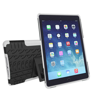 Shockproof Heavy Duty Tough Armor Cover Stand Case for Apple iPad 4, 3 & 2