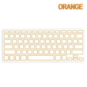 "Soft Silicone Keyboard Cover for Apple MacBook 13"" 15"" Air Pro"