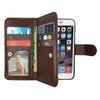Leather Wallet Case Magnetic Flip Gel Cover for Apple iPhone 5 / 5S / SE