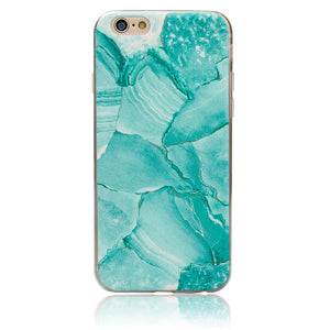 Marble Rock Pattern Thin Soft Gel Case for Apple iPhone X