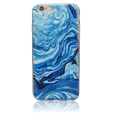Marble Pattern Thin Soft Gel Case for Apple iPhone 6 & 6S