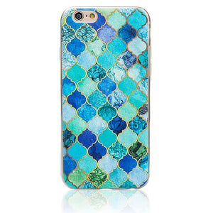 Marble Pattern Thin Soft Gel Case for Apple iPhone 5 & 5S