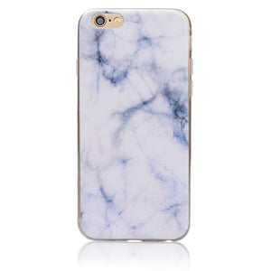 Marble Pattern Thin Soft Gel Case for Apple iPhone SE