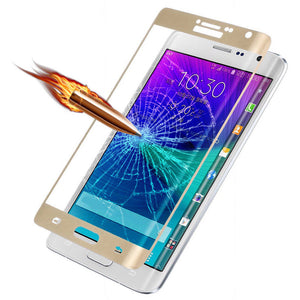 Genuine FULL COVERAGE Tempered Glass Screen Protector for Samsung Galaxy Note 8