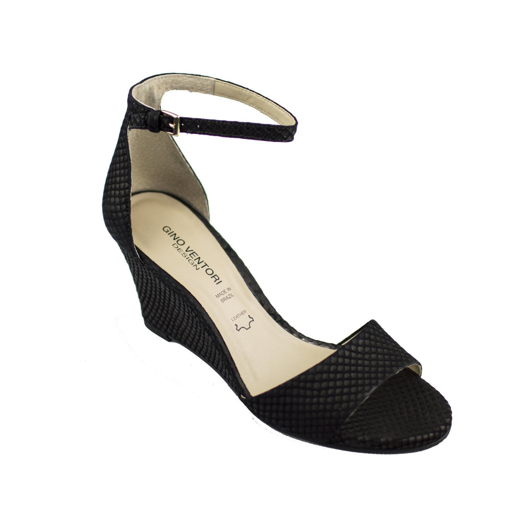 GINO VENTORI FASCINATE BLK SNAKE