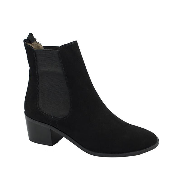 MARCO DALESSI FLORENCE BLACK SUEDE