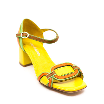 DJANGO & JULIETTE POLLECT YELLOW MULTI