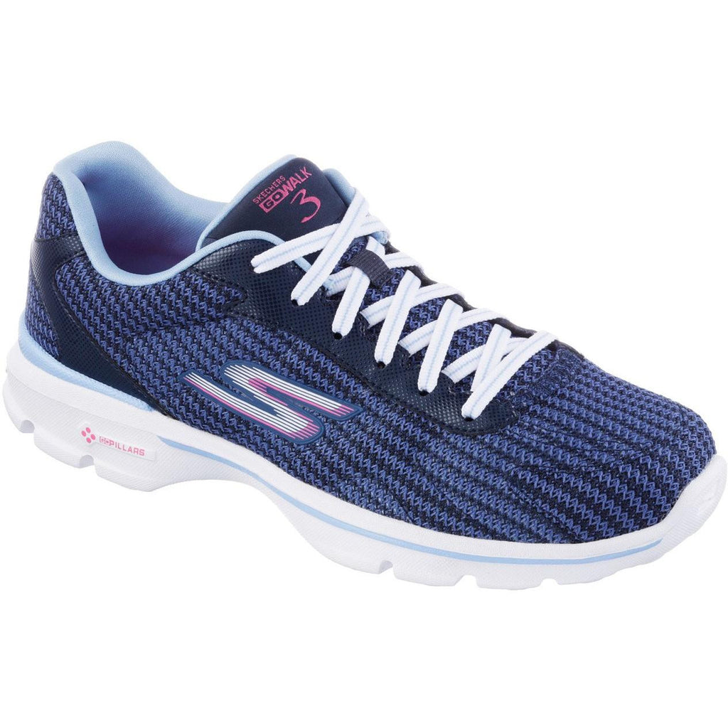 SKECHERS GO WALK3 NAVY