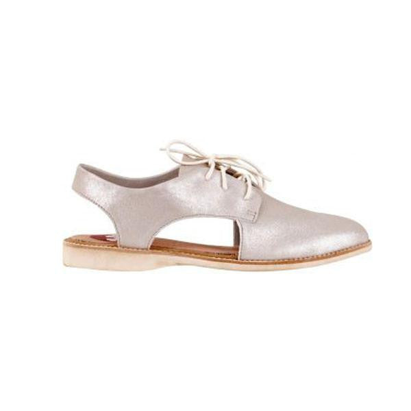 ROLLIE SLINGBACK SILVER