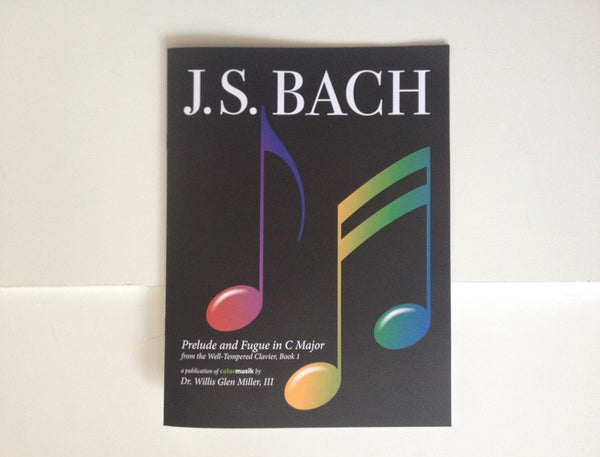 Bach Prelude and Fugue in C Major, Well-Tempered Clavier Book I (Score)