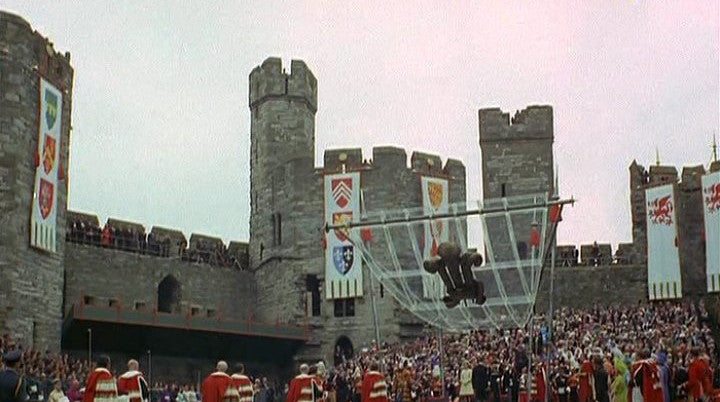 Flags in Castle