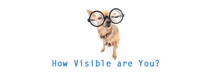How visible are you image