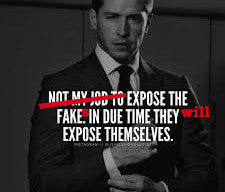 Expose The Fake.