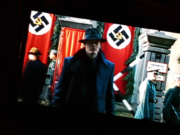 Nazi banners made by Red Dragon Flagmakers on SS-GB BBC One drama 2017