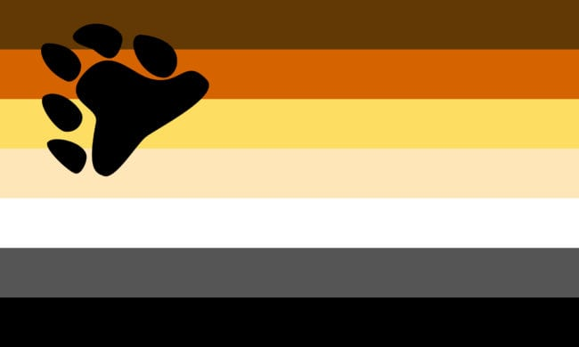 Bear pride lgbt flag by red dragon flagmakers