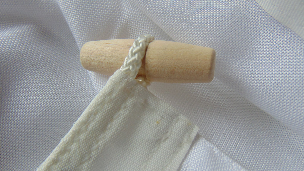 Canvas rope and toggle by Red Dragon Flagmakers