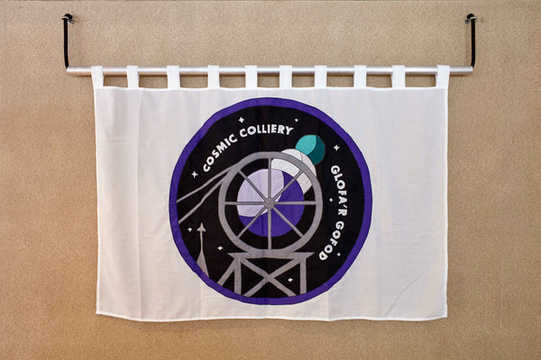 Cosmic Colliery by Red Dragon Flagmakers