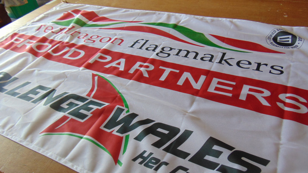 Red Dragon Flagmakers sponsors of Challenge Wales