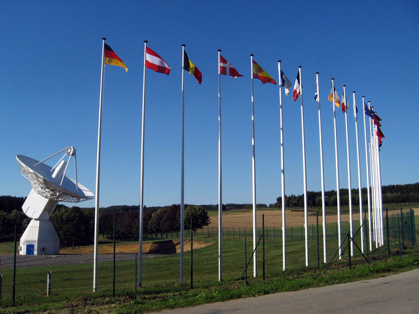 European Space Agency flags by Red Dragon Flagmakers