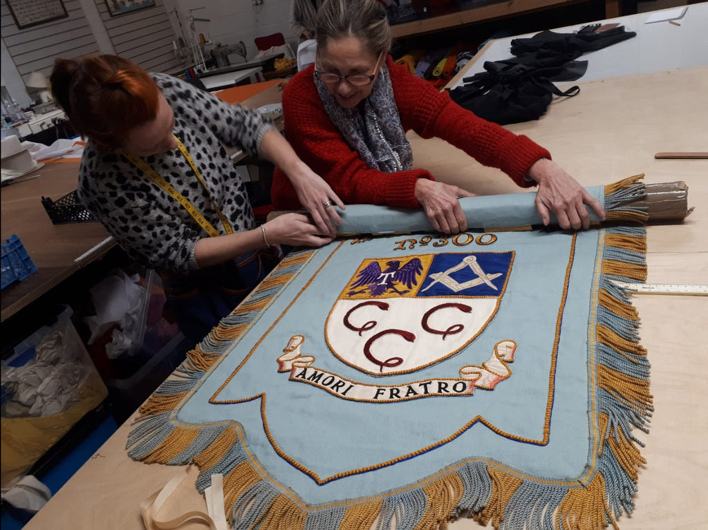Herbert Teagle Lodge banner New Zealand by Red Dragon Flagmakers