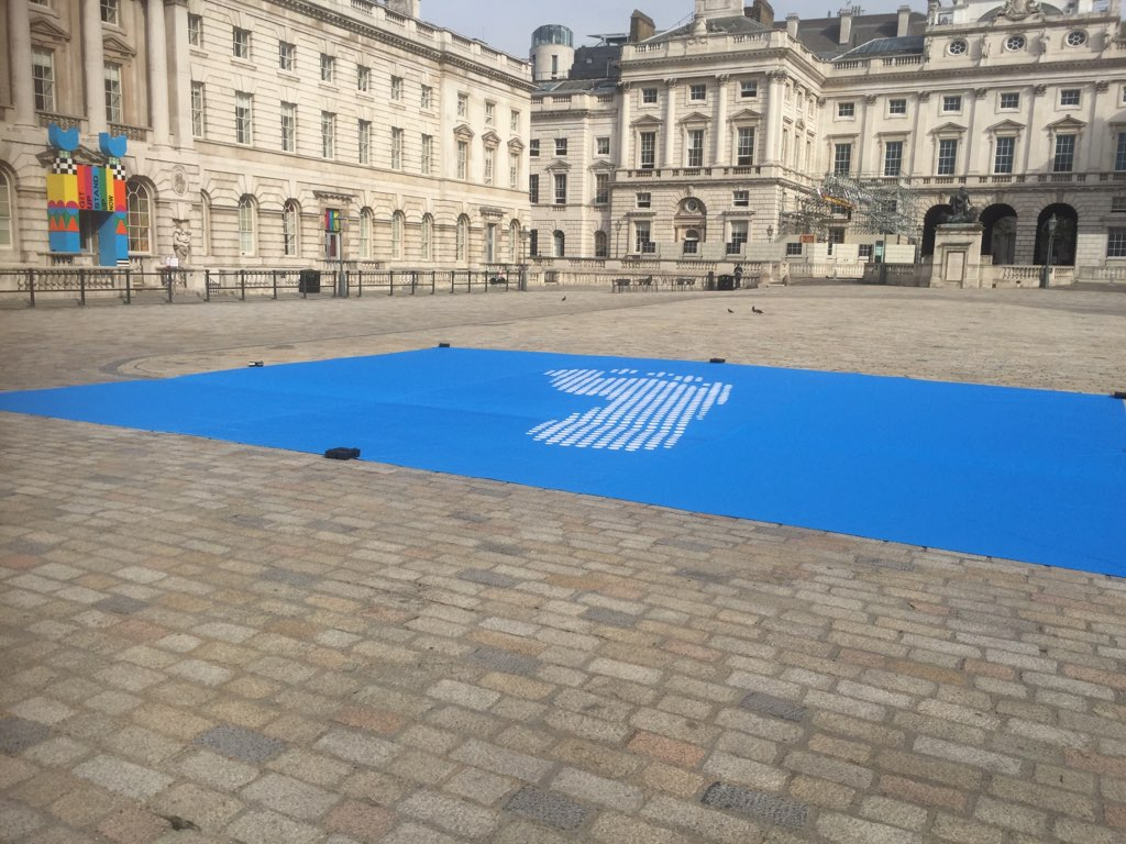 Human Rights, AiWeiWei Somerset House exclusive to Red Dragon Flagmakers