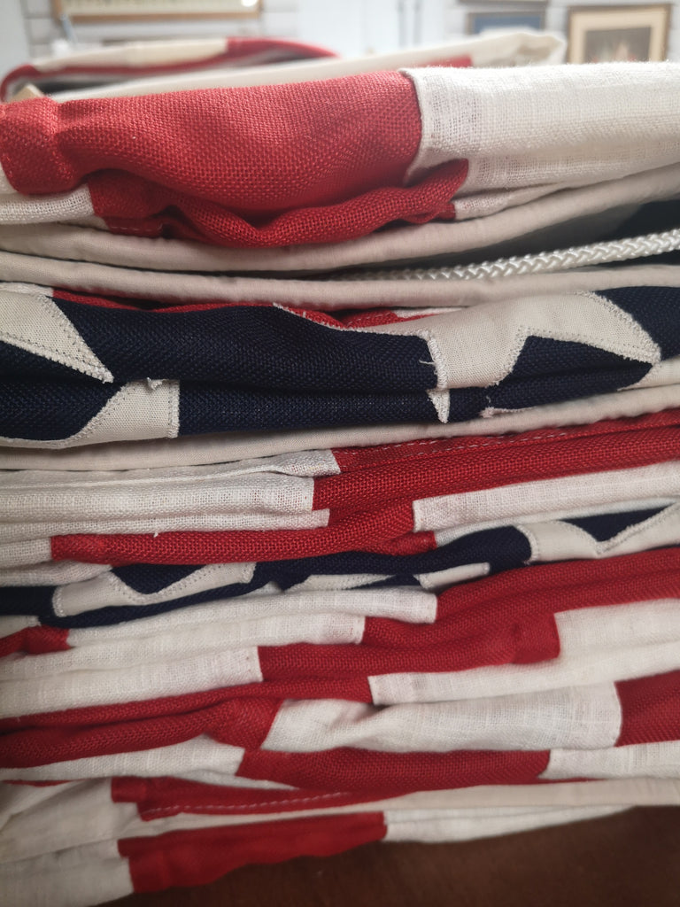 Vintage style USA flags for Superdry by Red Dragon Flagmakers