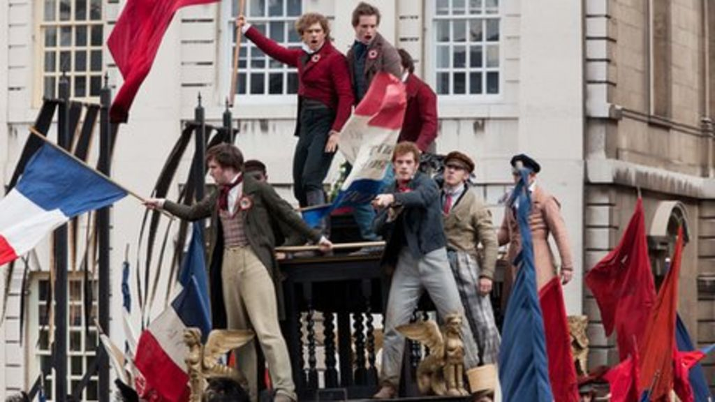 Les Miserables film flags by Red Dragon Flagmakers