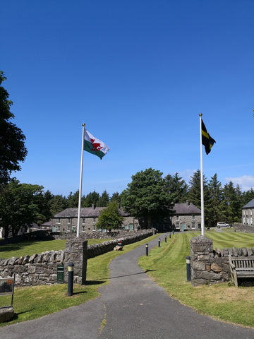Nant Gwyrtheryn flags and flagpoles Red Dragon Flagmakers