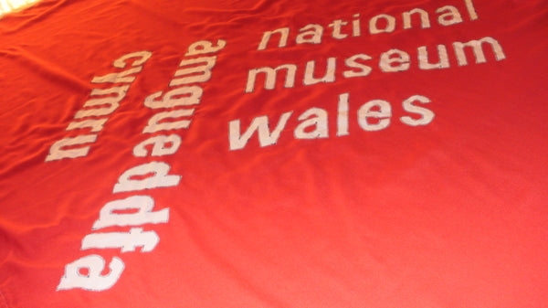 National Museum Wales, traditional sewn flags and banners