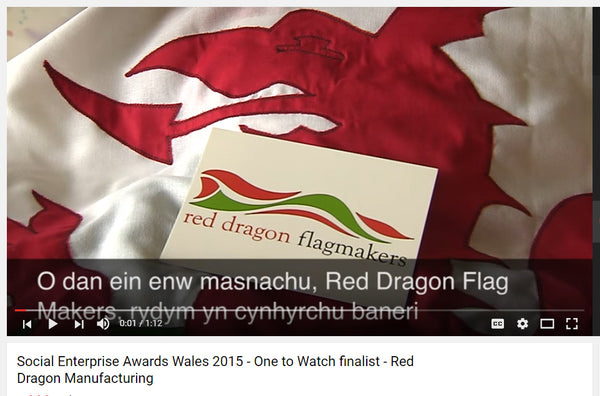 One to watch Red Dragon Flagmakers