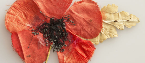 Poppy flags by Red Dragon Flagmakers
