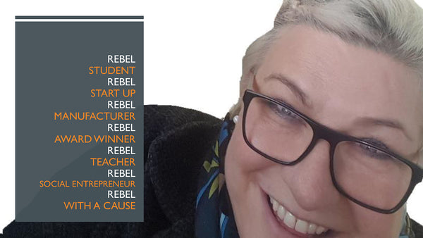 Jo Ashburner Farr Rebel with a cause Entrepreneurship Forum January 2018 Newport