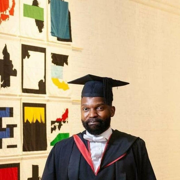 Samson Kambalu at Modern Art Oxford May 2021 New Liberia. All flags, panels and banners made by Red Dragon Flagmakers