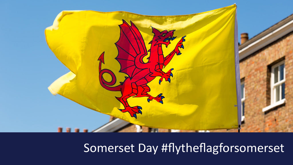 Fly the flag for Somerset day with Red Dragon Flagmakers, official supplier